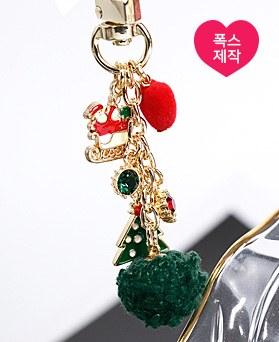 1049115 - <AP0494> [手工制作]圣诞老人钥匙圈