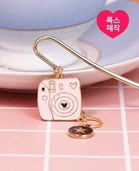 1049171 - <BK085> [手工制作]粉色宝丽来书签