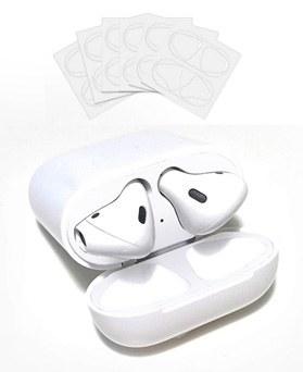 1049176 - <AP0482>透明&白AirPods兼容的铁粉贴纸