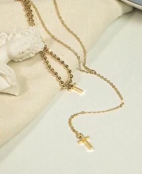 1049195 - [2个1集]独特的十字项链