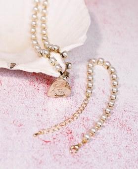 1049197 - <NE579_IF13>可爱珍珠线项链