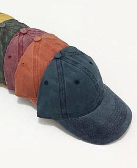 1049243 - <FI291_帽子수량>水洗平原球帽帽子