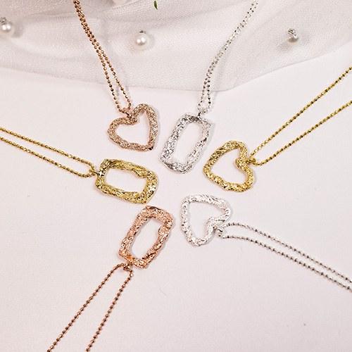 1049295 - <NE580_BF04> [银色]朱莉安娜项链