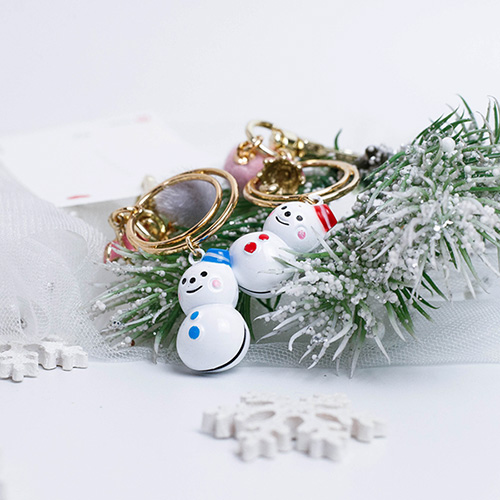 1049339 - <AP0547> [手工制作]白雪人钥匙圈