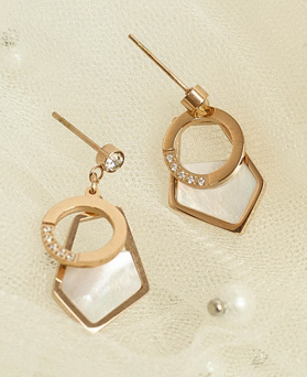 1049495 - <ER2182_DF30>夹式耳环不锈钢[마르] Mardia