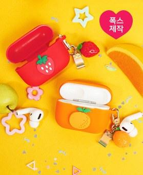 1049555 - [Keyring +案件] [手工制作]新鲜水果AirPods兼容集