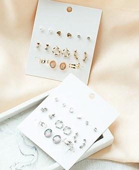 1050070 - <ER2247_CF15> [16个1集]迷你Collect耳环