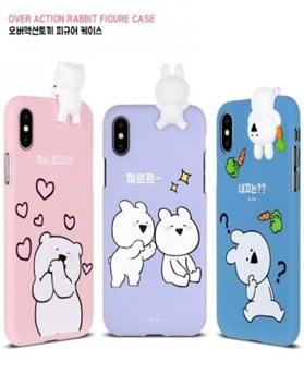 1050112 - [正版] Over Action Rabbit Figure iPhone兼容箱