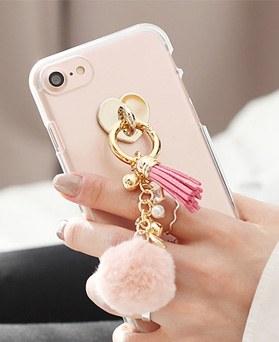 1050130 - Tri Cozy Cotton Candy iPhone兼容透明果冻盒