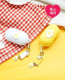 1050157 - <AP1003> [手工制作] [钥匙圈+案件] Toktok Egg Buzz集