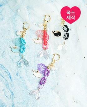 1050231 - [手工制作]海尾巴链条钥匙圈
